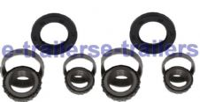 PEAK & MERIDITH EYRE 200 & 203mm DRUM BEARING KIT L44649 L44610 LM48548 LM48510